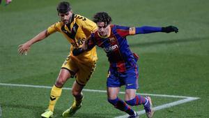 Collado, en el Barça - Badalona