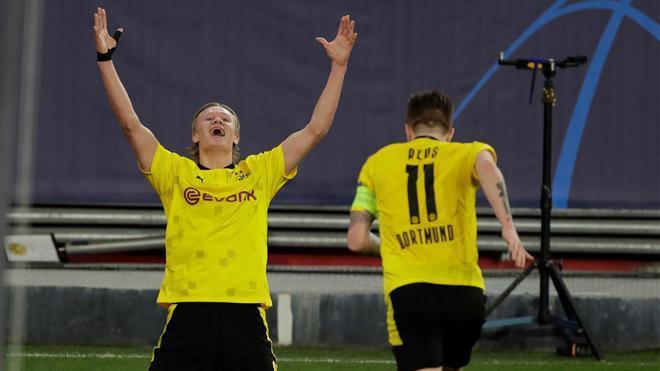 El Sevilla reacciona pero no a tiempo: el resumen de la victoria del Borussia Dortmund