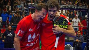 Lebron y Navarro ganaron en Sao Paolo