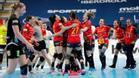 Las Guerreras, celebrando su clasificación para los Juegos Olímpicos