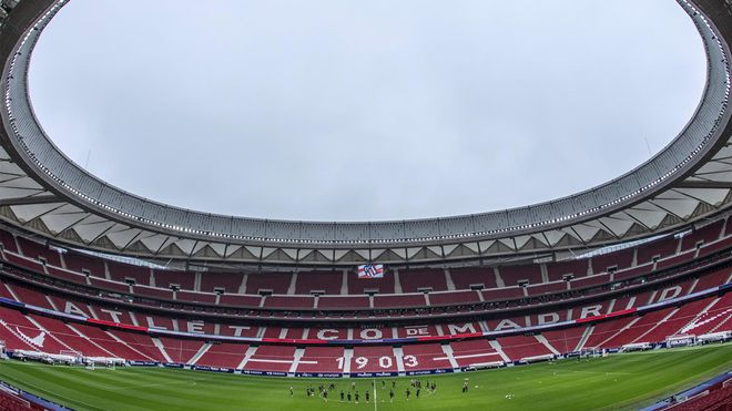 Vista del Wanda Metropolitano