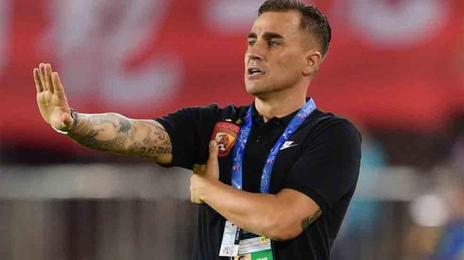 Cannavaro, eliminado de la Champions de Asia
