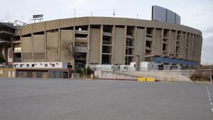 El Camp Nou, preparado para las elecciones