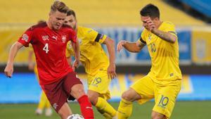 Duelo entre Ucrania y Suiza en la primera jornada