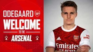 Odegaard jugará cedido en el Arsenal