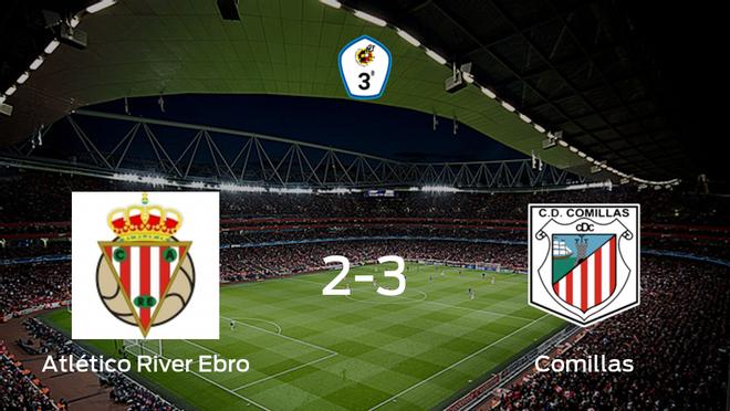 El CD Comillas vence en el San Miguel al Atlético River Ebro (2-3)