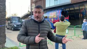 Ivan San Antonio trae la última hora desde el hotel de concentración del Barça