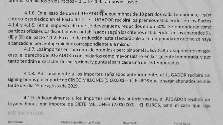 تسريبات عقد غريزمان مع برشلونة : مكافأة نقل بخمسة ملايين 1
