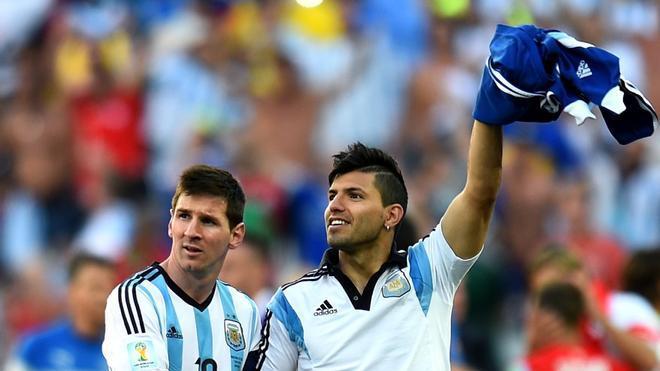 La conformación de una nueva dupla: Agüero y Messi