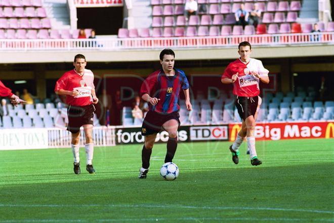 19. Andrés Iniesta 2001-02