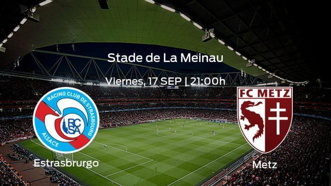 Previa del partido de la jornada 6: Racing Estrasburgo - FC Metz