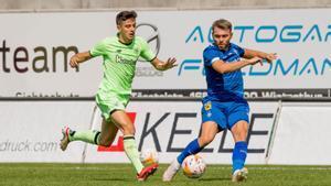 Imagen del duelo entre Athletic y Dinamo de Kiev disputado en Suiza