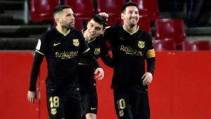 El 1x1 del Barça ante el Granada