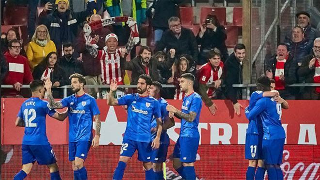 El Girona vuelve a tropezar en Montilivi ante un Athletic crecido