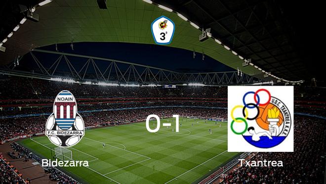 El Txantrea suma tres puntos a su casillero ante el FC Bidezarra (0-1)