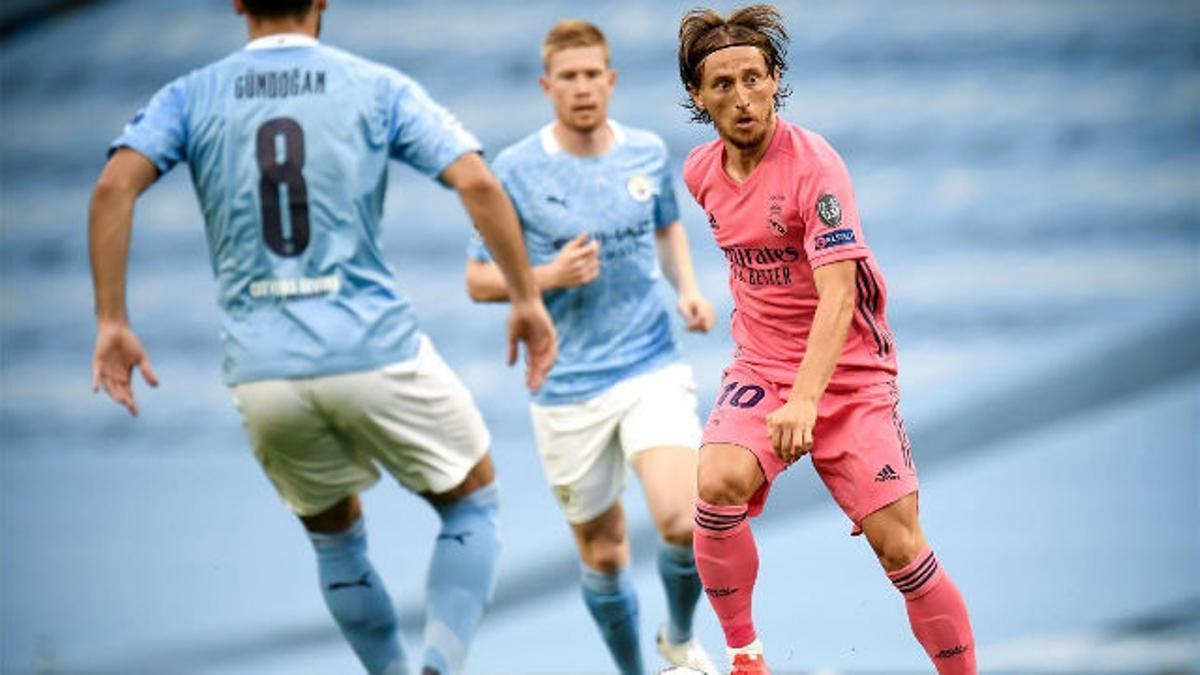 Modric: Me gusta que Messi se haya quedado en el FC Barcelona. Es un plus para nosotros