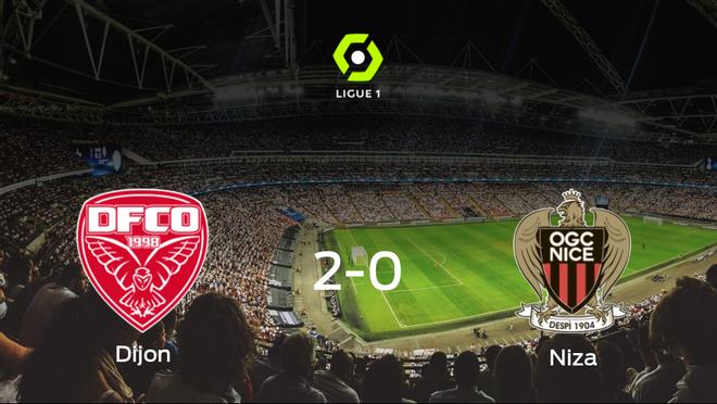 2-0: El Dijon FCO se impone al OGC Niza en casa