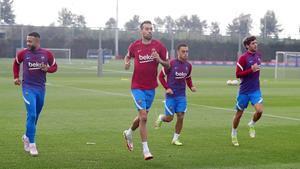 Sigue en directo el entrenamiento del FC Barcelona