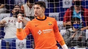 Óscar de la Faya defenderá la portería del Barça