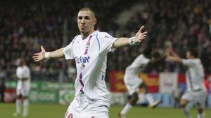 Benzema quiere volver a lucir la camiseta del Olympique de Lyon antes de retirarse