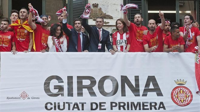 El Girona volverá este verano a Manchester, esta vez como equipo de la Liga Santander