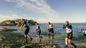 Más de 300 deportistas han participado en la Swimrun eDreams Cap de Creus by HEAD