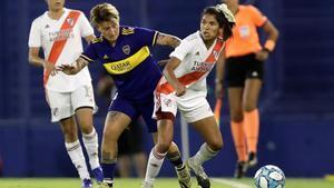 Boca y Rivel, en la final del Torneo Transición 2020