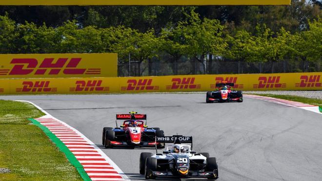Smolyar ha ganado la primera carrera de la F3 en el Circuit de Barcelona