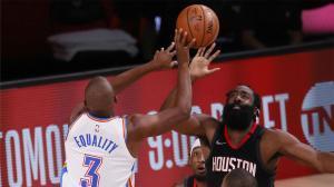 El tapón de Harden que clasifica a los Rockets