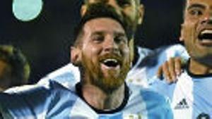Los 50 primeros goles de Messi con Argentina