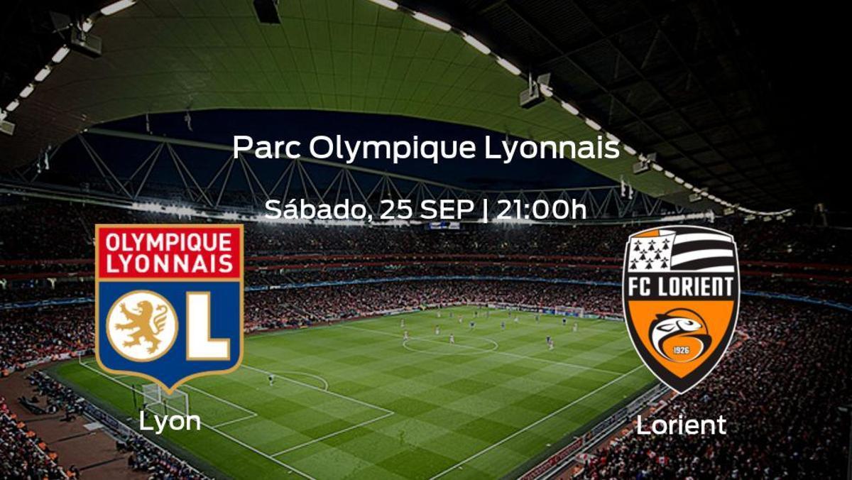 Jornada 8 de la Ligue 1: previa del duelo Olympique Lyon - Lorient