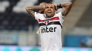 Dani Alves está haciendo una temporada soberbia en el Sao Paulo