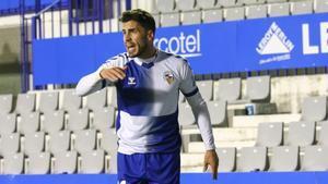 Néstor Querol, jugador del Sabadell