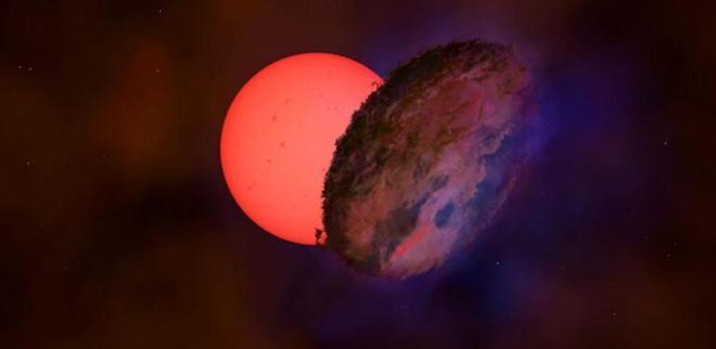 Una enorme y misteriosa estrella juega al escondite en el centro de la Vía Láctea