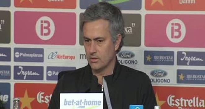 Mourinho elogió el trabajo del Mallorca