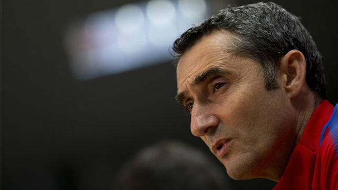 Valverde: Yerry Mina vino en un momento difícil