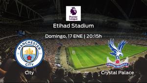Previa del partido de la jornada 19: Manchester City contra Crystal Palace