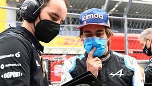 Alonso está satisfecho de su regreso a la F1