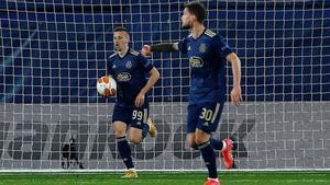 Mislav Oršić recortó distancia en el marcador ante el Villarreal