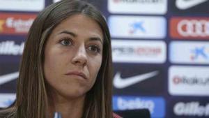 Vicky Losada, capitana del Barcelona femenino