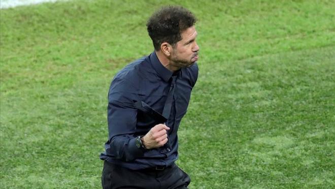 Diego Simeone confía en llevarse la final ante Real Madrid