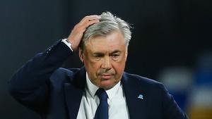 Los datos de Ancelotti ante el Inter