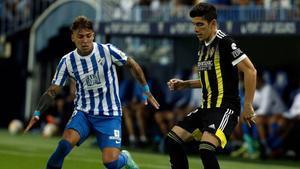 El resumen del partido entre el Málaga y el Zaragoza
