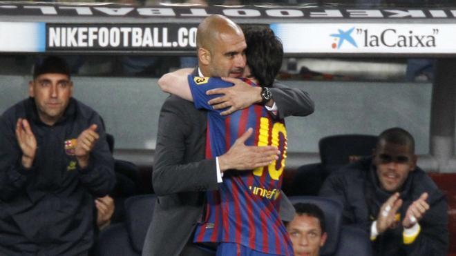 Los cuatro goles de Messi contra el Espanyol en 2012
