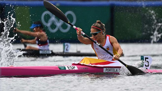 Teresa Portela, nueva medalla para España
