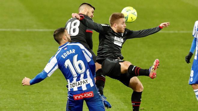 Imagen del duelo entre Alavés y Eibar de la primera vuelta