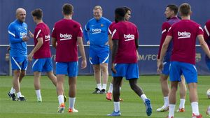 Sigue en directo en entrenamiento del Barça