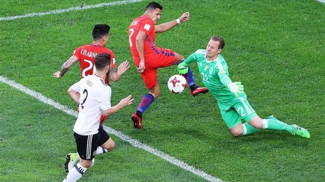 Ter Stegen fue decisivo ante Chile