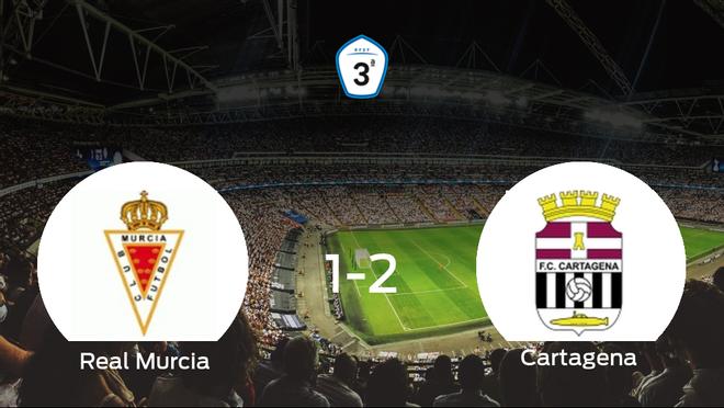 El Cartagena B suma tres puntos a su casillero ante el Real Murcia B (1-2)
