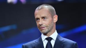 Ceferin, sobre la Superliga: Lo que ha sucedido es inmoral